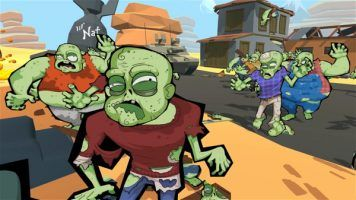 Can you survive the zombie wave with just a pistol?