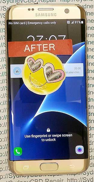 After Samsung Galaxy S7 Edge Screen Replacement