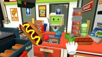 Can you become an employee of the month in Job Simulator?