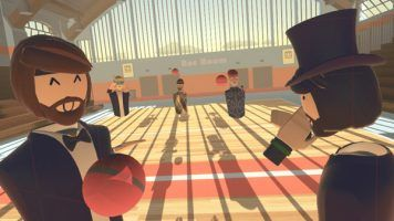 Play with real people in a virtual world with Rec Room. Ready?