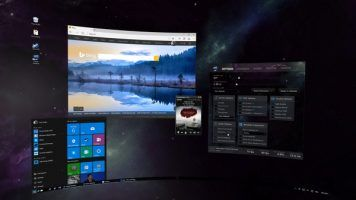Virtual Desktop makes you use you PC in virtual reality.