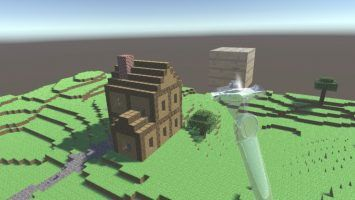 Craft and survive. Vivecraft is your VR Minecraft, finally.
