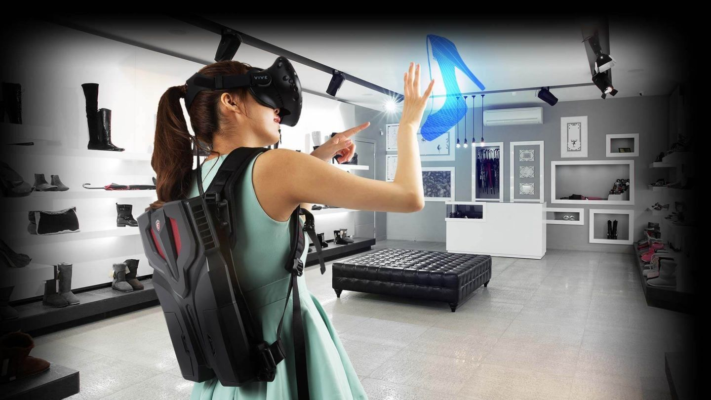 Meet MSI VR One: a Virtual Reality Backpack PC