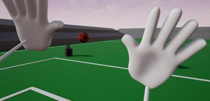 VRMultigames let's you play as a goalie, archer, and shooter and so much more!