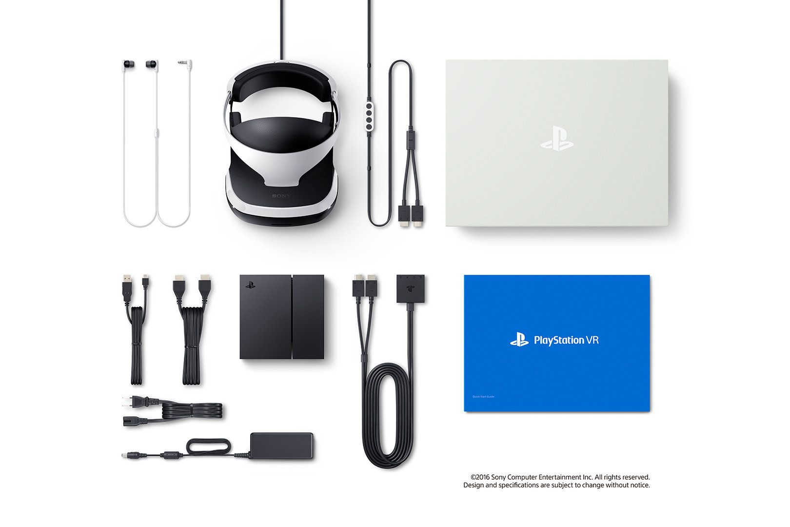 What's in the PlayStation VR box?