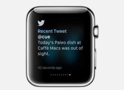 apple watch twitter