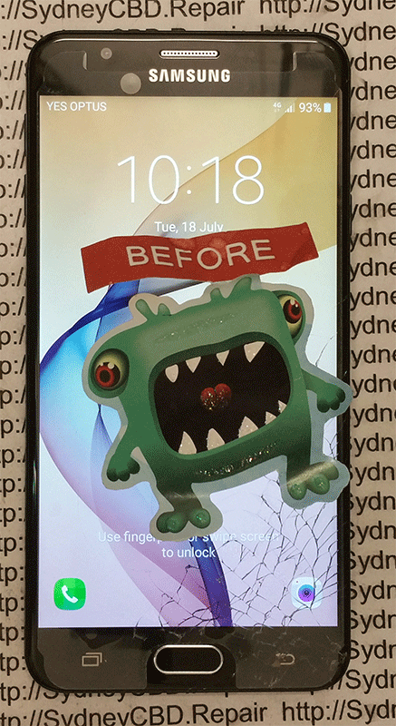 Touch Function and Display Image are Still okay ?