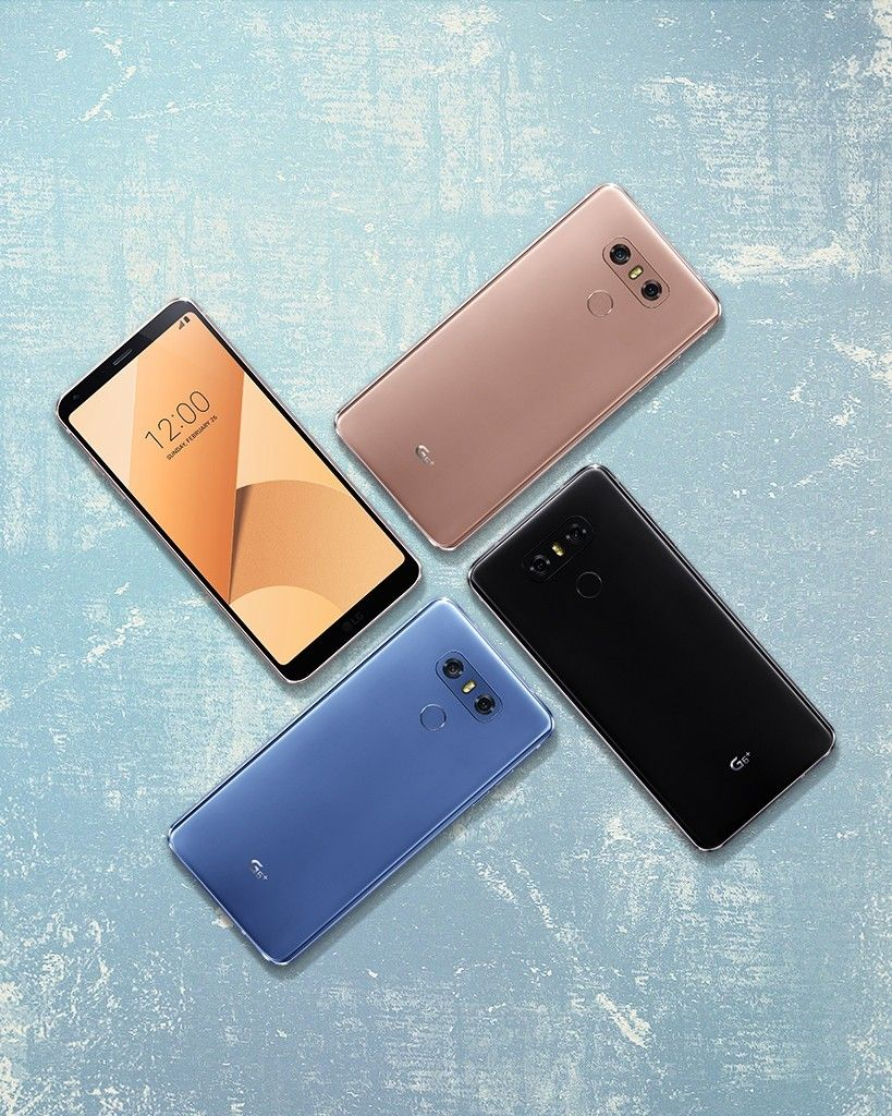 """LG EXPANDS CAPABILITIES OF G6 WITH ENHANCED FEATURES AND NEW """"PLUS"""" VERSION"""
