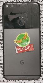 Broken Google Pixel XL Back 2