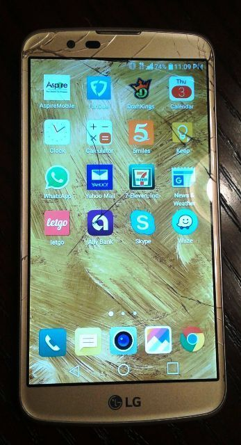 LG K10 is still turning on? But Touch function doesn