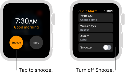 How to set an alarm on Apple Watch