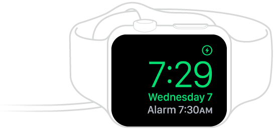 How to see the Apple Watch time on your nightstand