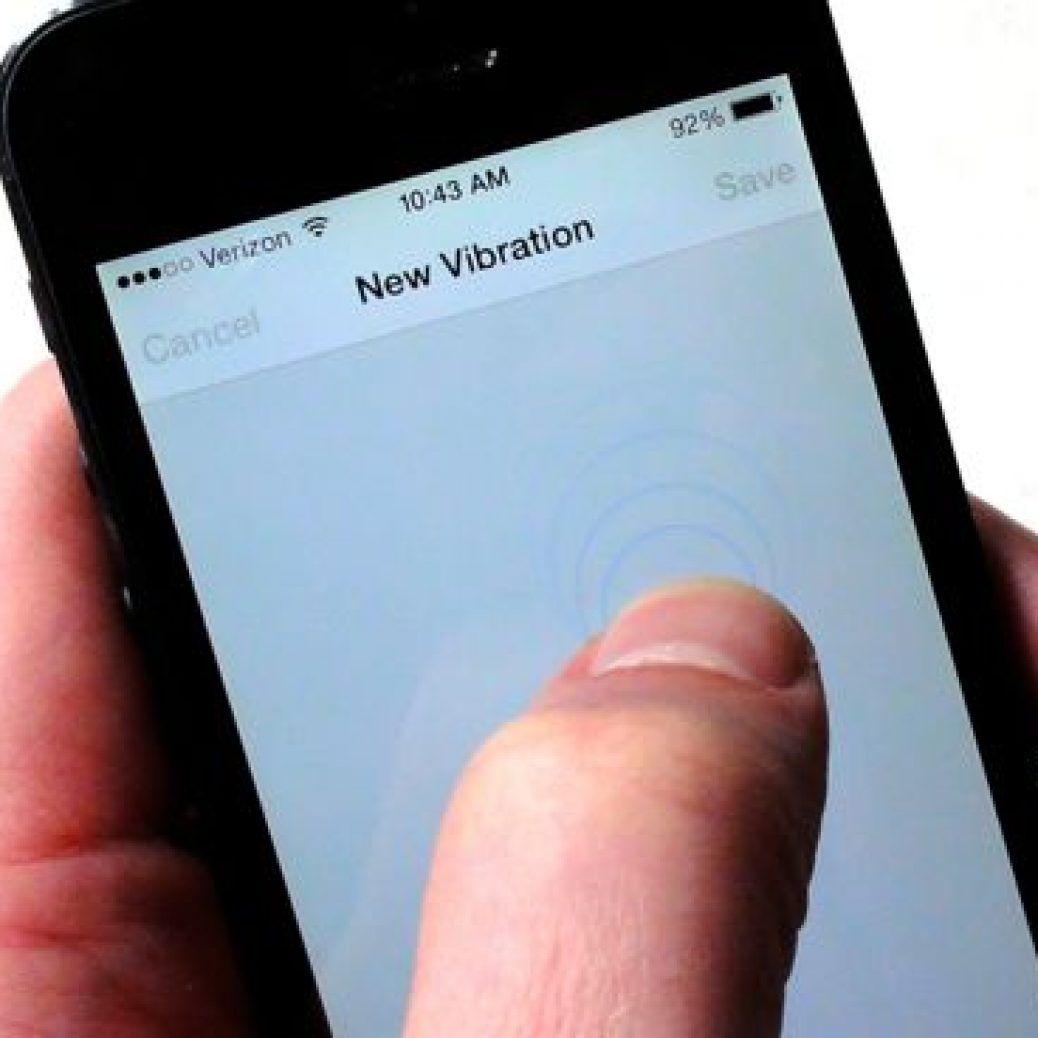 Choosing-a-custom-iPhone-vibration