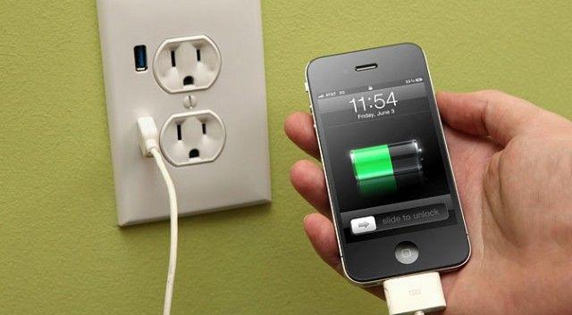 iphone battery recharging