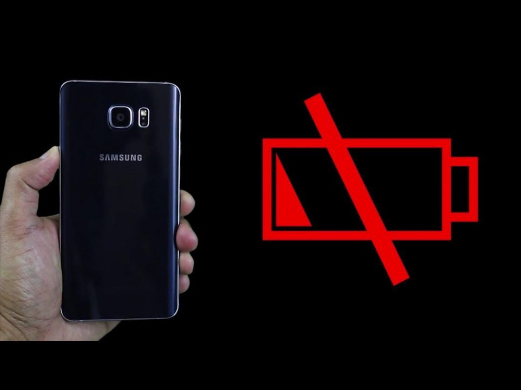 How do you take the battery out of a Galaxy Note 5?