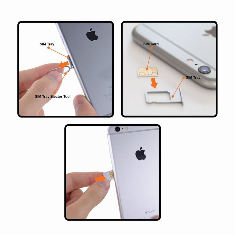 iphone 6 remove install sim card