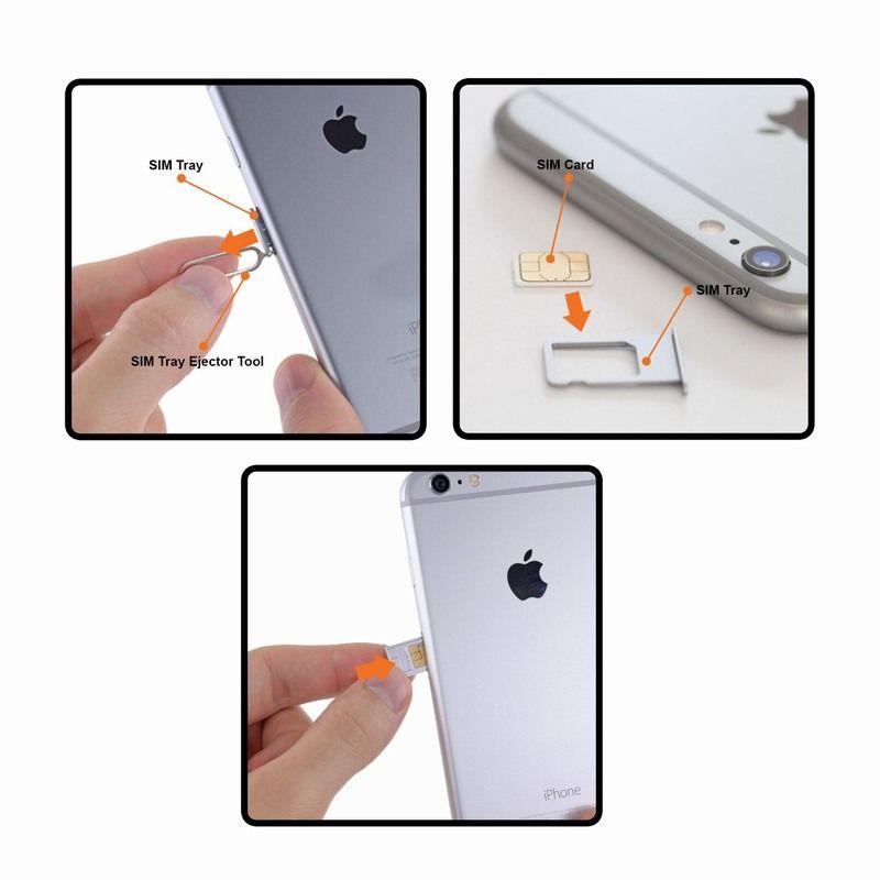 iphone 6 remove install sim card