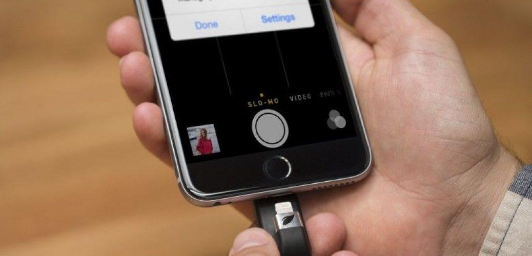 iphone usb stick