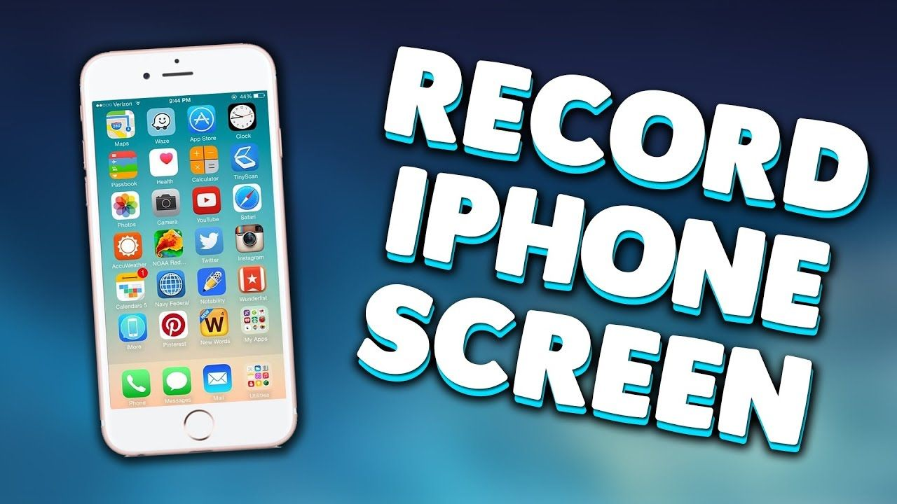 screen record iphone screen