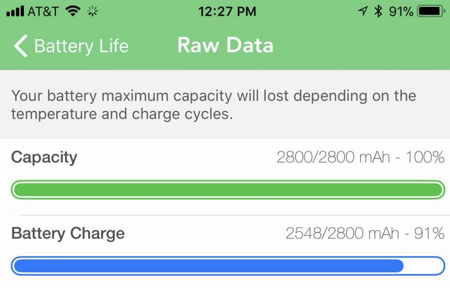 Battery Life App