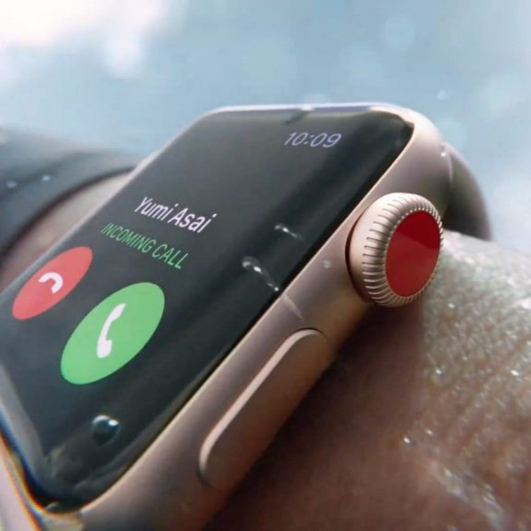apple watch eject water