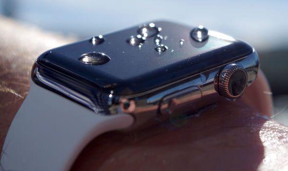 apple watch gets wet
