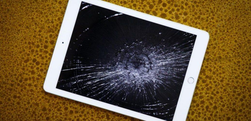 broken ipad screen
