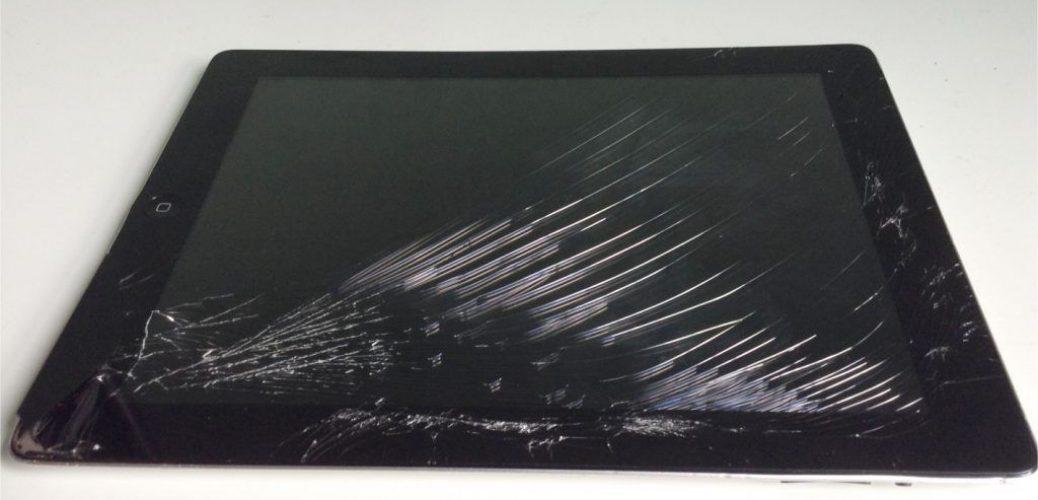 scratched ipad screen