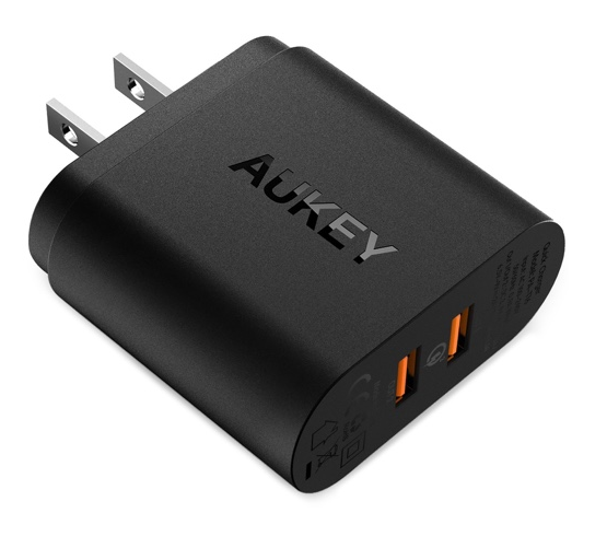 aukey 39w charger