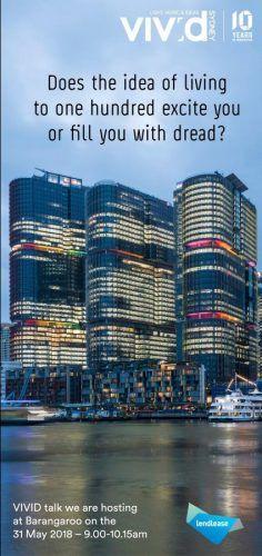 100 year life vivid sydney ideas event