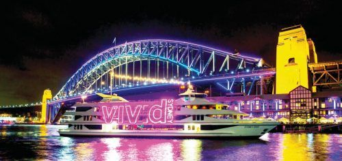 sydney harbour light events