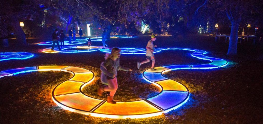 Once in A Lifetime Experience, Capture Your Magical Moment - Vivid THE ROYAL BOTANIC GARDEN SYDNEY 2018!