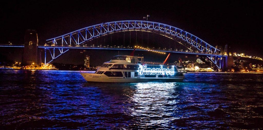 Once in A Lifetime Experience, Capture Your Magical Moment - Vivid HARBOUR LIGHTS 2018!
