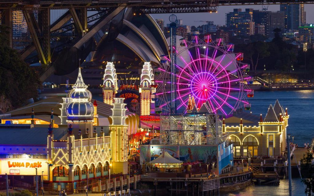 Once in A Lifetime Experience, Capture Your Magical Moment - Vivid Luna Park 2018!