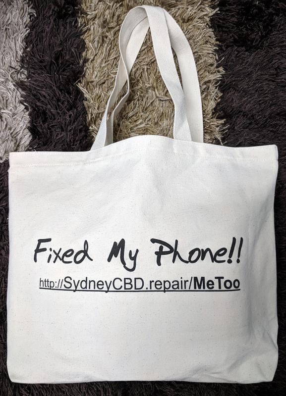 Large Size - Eco Bag: Length: 46cm, Height : 35cm, Width: 10cm