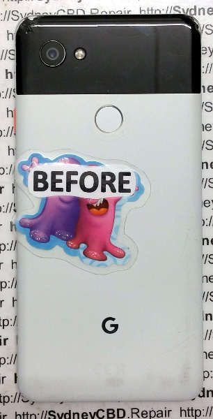 On The Spot Repair - Google Pixel 2 XL Back|Rear Glass Fix