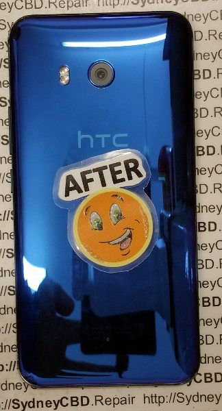 HTC U11 Back Glass Replacement