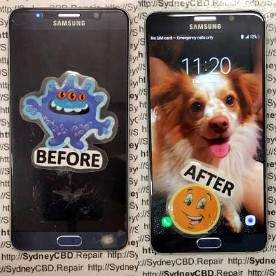 Galaxy Note 5 screen replacement