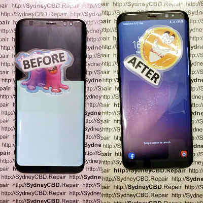 Galaxy S8 Plus screen replacement