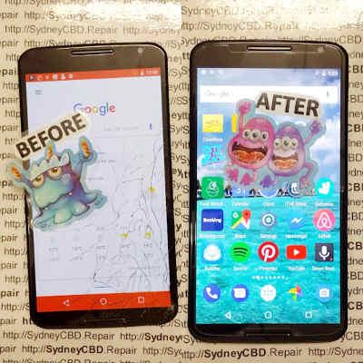 Broken Motorola Nexus 6