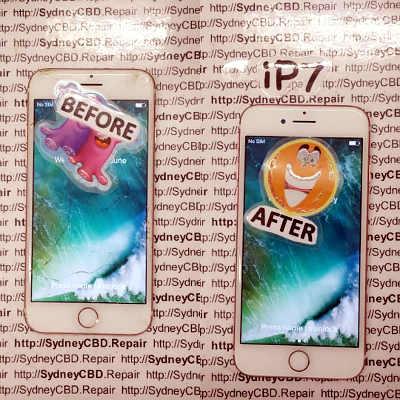 Broken iPhone 7 Screen