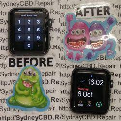 Broken Apple Watch Screen Replacement 07