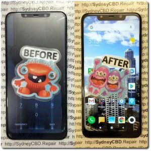 pocophone screen replacement and poco f1 screen replacement