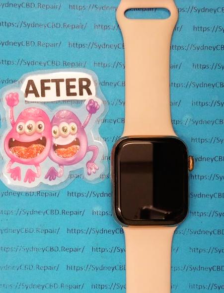 Apple Watch After Repair Broken Screen.