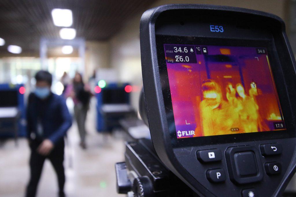 coronavirus australia update news thermal scanners