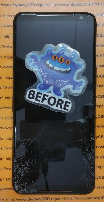 1 Broken Rog Phone 2