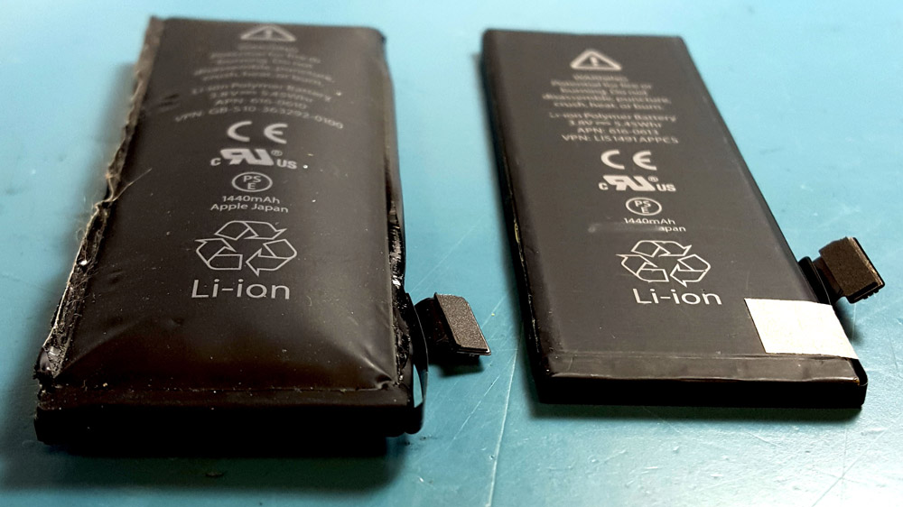 sydney cbd repair centre bloated battery