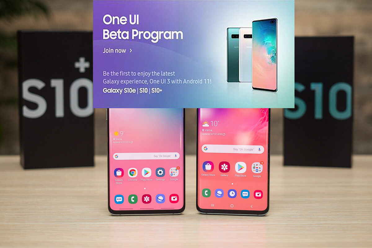 ❤ Samsung opens One UI 3.0 beta program for the Galaxy S10 series