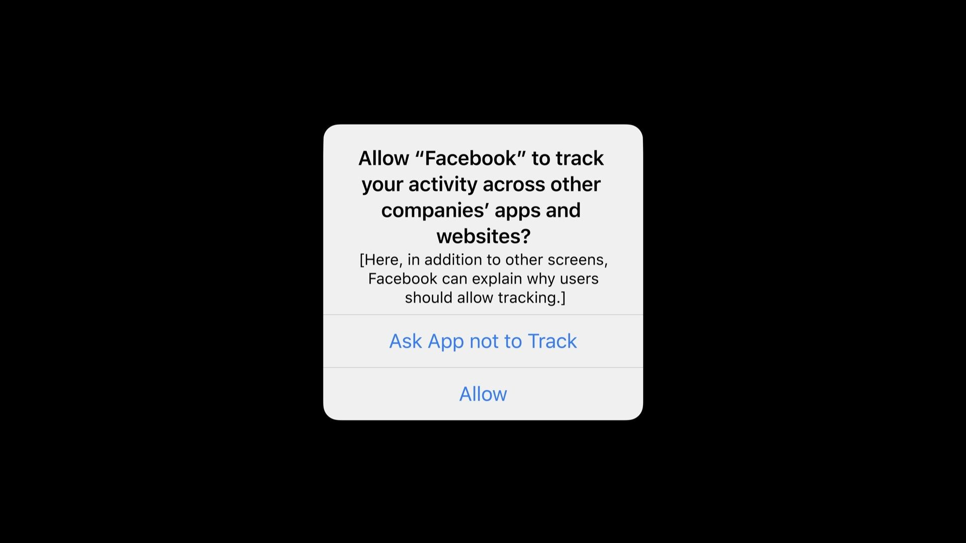 ❤ Facebook tells businesses it has no choice but to comply with upcoming App Tracking Transparency feature in iOS 14