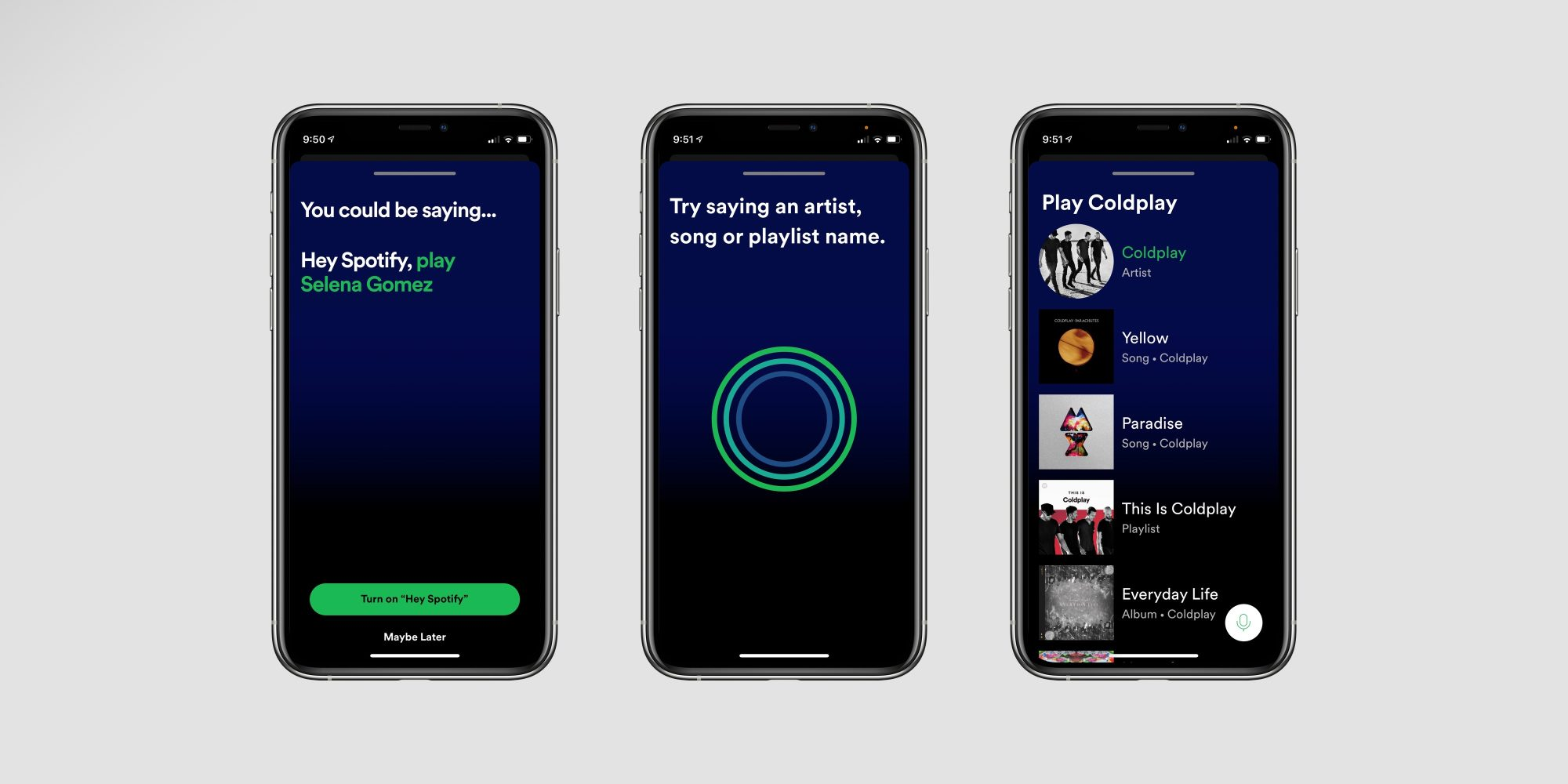 ❤ 'Hey Spotify' in-app virtual assistant now rolling out on iPhone